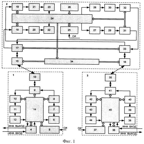 Одночастотная система радиосвязи с ретранслятором