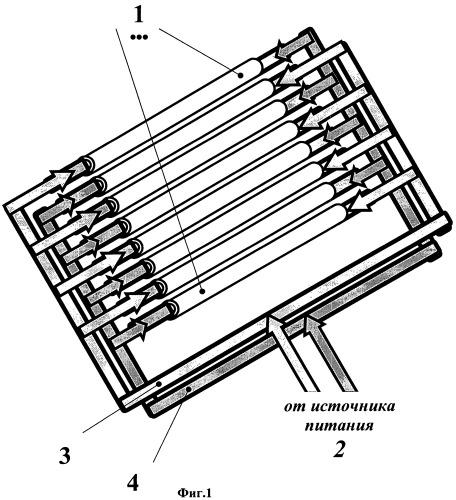 Электрическая радиационная нагревательная установка