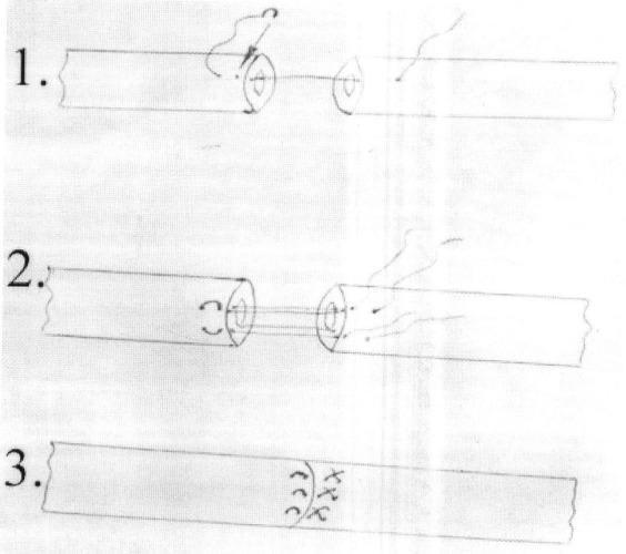 Однорядный адаптирующий микрохирургический шов маточной трубы в эксперименте
