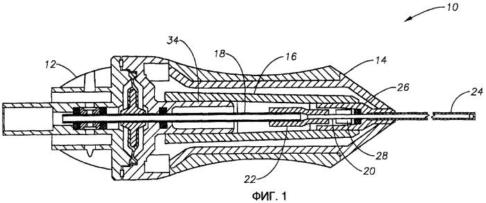 Модульная конструкция для офтальмологического хирургического зонда