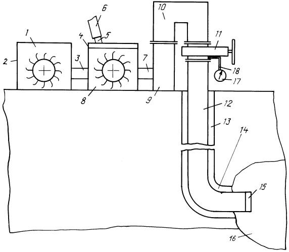 Способ восполнения жидких и газообразных углеводородных полезных ископаемых и устройство для его осуществления