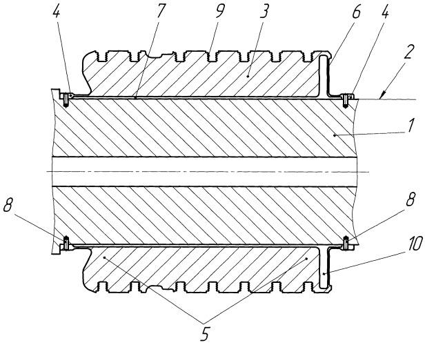 Способ восстановления поверхности ротора турбокомпрессора