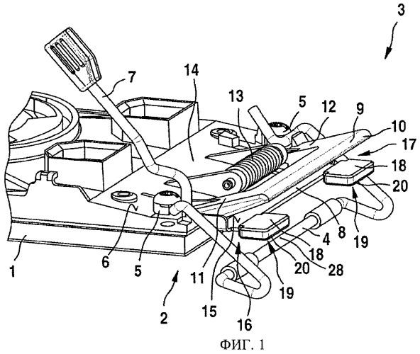 Ручная шлифовальная машина с новым устройством для натяжения листа шлифовальной шкурки