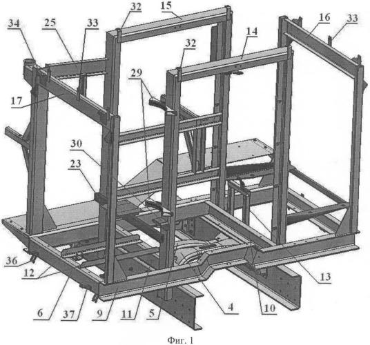 Модуль вспомогательного оборудования