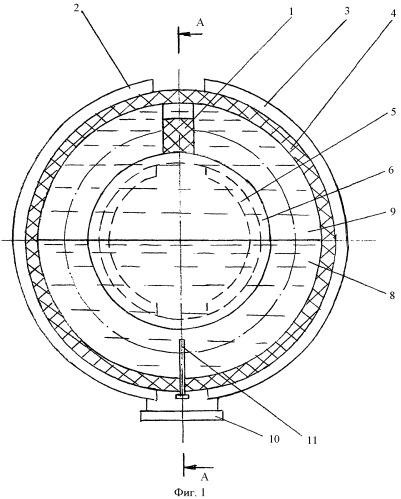 Устройство для измерения угла крена или дифферента плавучего средства на волнении