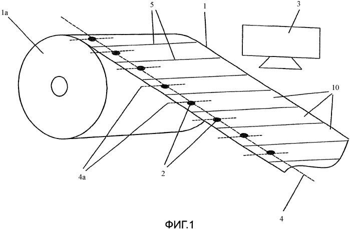 Способ и устройство для изготовления, по меньшей мере, одного окна в удлиненной бумажной подложке