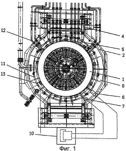 Способ для термомеханической обработки бесшовных колец, изготовленных на радиально-осевом кольцепрокатном стане