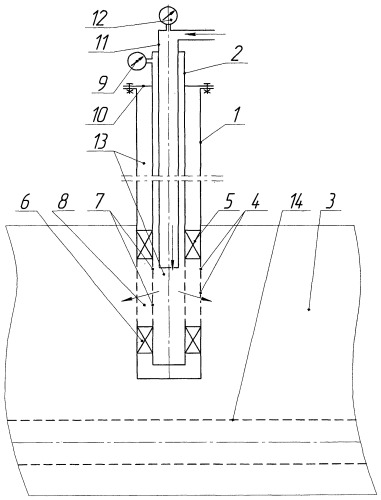 Способ определения пластового давления в нагнетательных скважинах