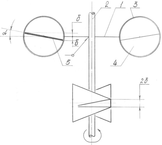 Ротор с чашеобразными ветровоспринимающими элементами