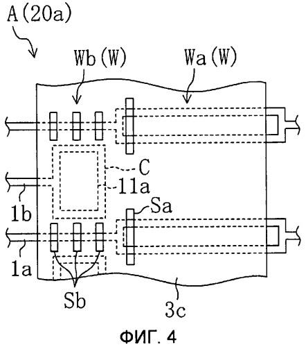 Подложка активной матрицы, панель жидкокристаллического дисплея, оборудованная ею, и способ производства подложки активной матрицы