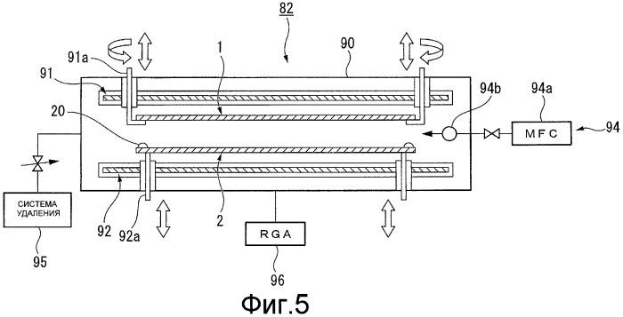 Способ и устройство для производства плазменной отображающей панели