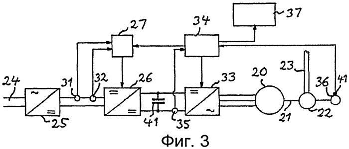 Система привода для переключателя отводов