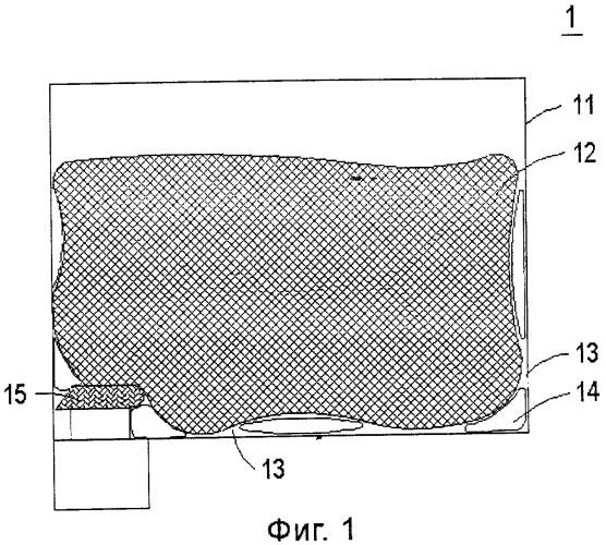 Пористое поглощающее чернила изделие и картридж, содержащий такое изделие