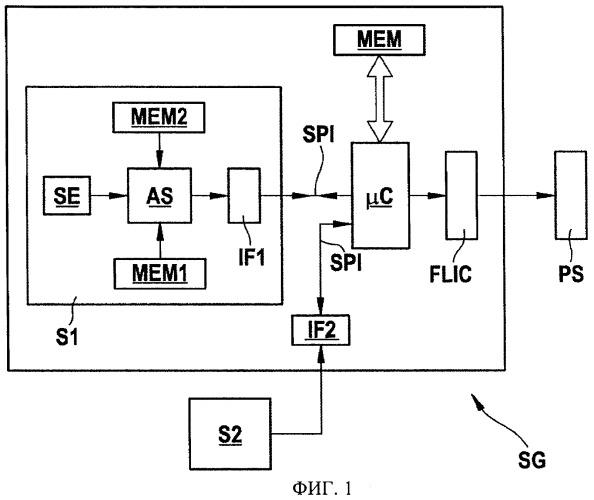 Датчик аварии и способ обработки по меньшей мере одного измерительного сигнала