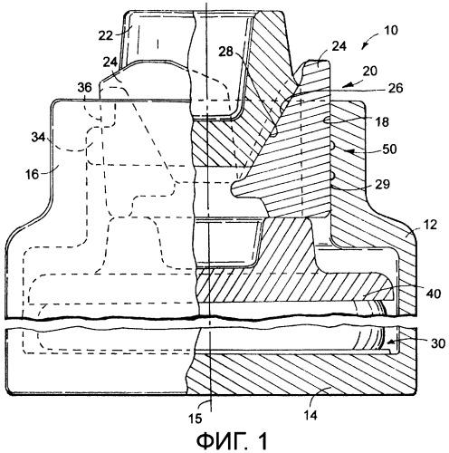 Способ установки готовых смазочных вставок в корпусе поглощающего аппарата