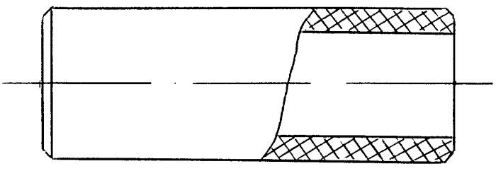 Втулка рычажной тормозной системы рельсового транспорта