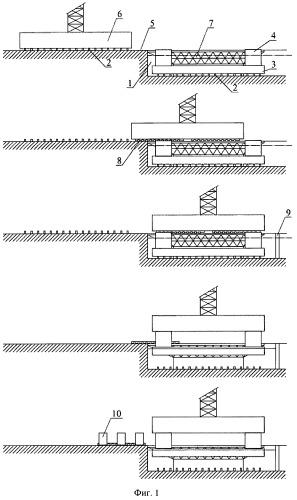 Способ постройки плавучего сооружения