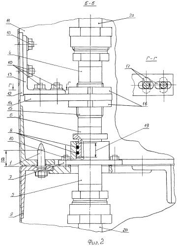 Разъемное устройство транзитной пневмогидравлической магистрали в стыке разделяемых частей космического объекта и способ его сборки