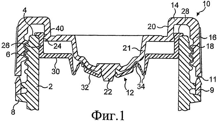 Крышки для контейнеров, предназначенных для нескольких компонентов