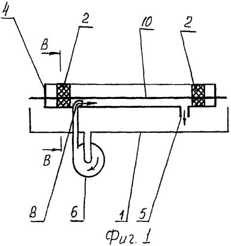 Устройство охлаждения нити для линий по производству изделий из пластических масс