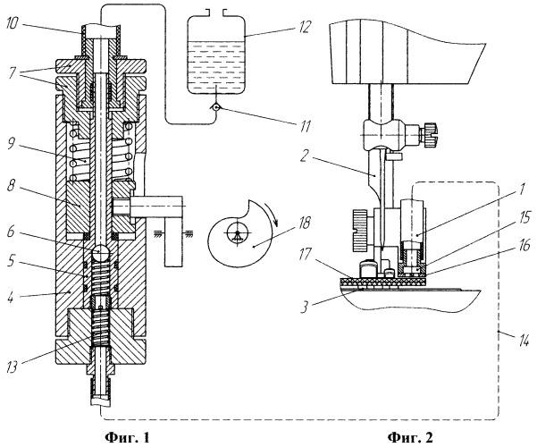 Устройство для обработки срезов текстильных материалов и деталей швейных изделий