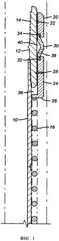 Средство для защиты от посторонних включений для извлекаемого механического пакера, приводимое в действие пружиной
