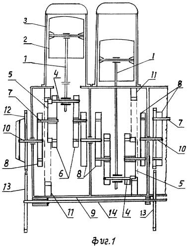 Бесшатунный планетарно-кривошипный преобразователь вращения для двигателей