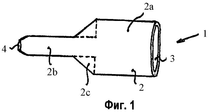 Отлитая под давлением форсунка и инжектор, содержащий эту отлитую под давлением форсунку