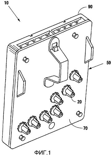 Соединитель к системе сопряжения кассеты