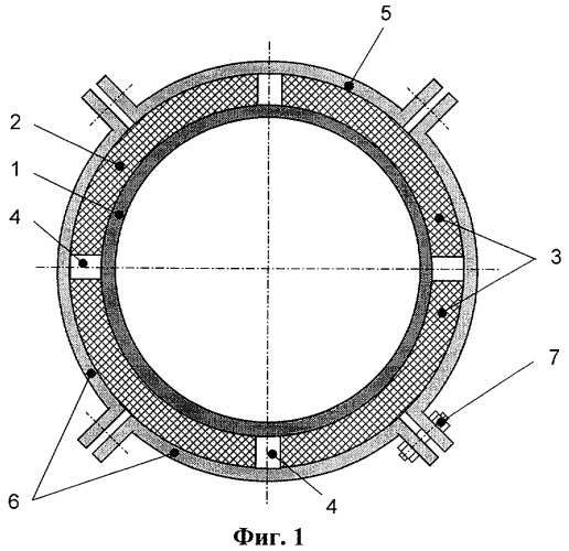 Устройство вибропоглощающей поверхности трубопровода