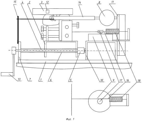Стенд для определения характеристик ударно-спусковых механизмов оружия