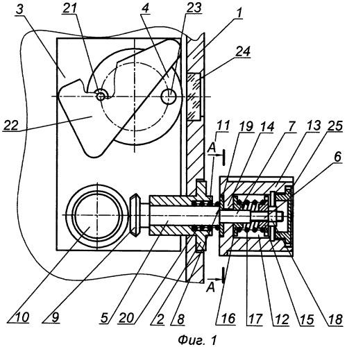 Механизм для привода шкалы