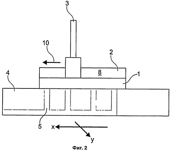 Способ изготовления чувствительной пленки для измерения трещин на поверхности материала