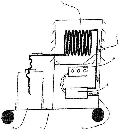 Способ автоматического отбора трития из атмосферного водяного пара