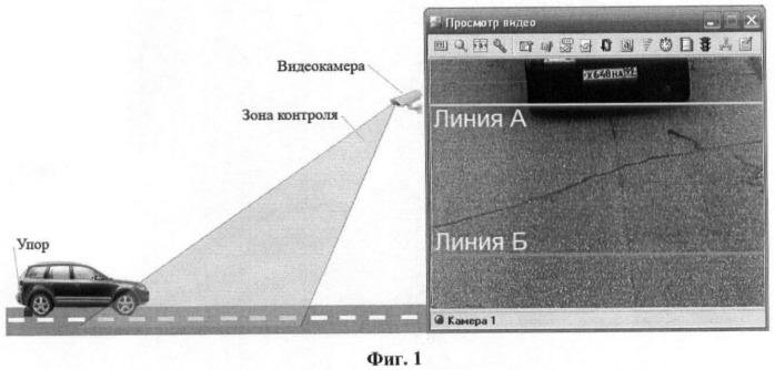 Способ определения метрологических характеристик измерителя скорости движения транспортного средства по видеокадрам
