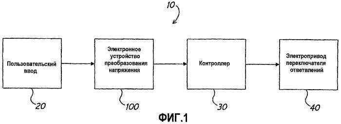 Универсальное устройство ввода для переключателя ответвлений
