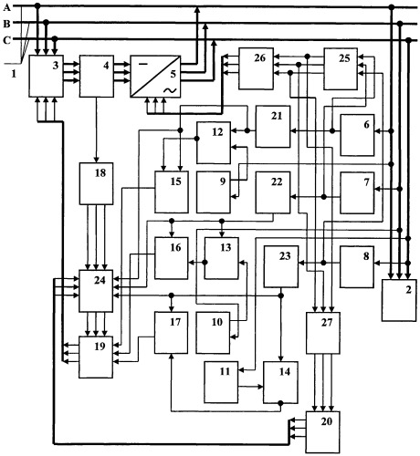 Способ повышения качества и эффективности использования электроэнергии в n-фазной системе энергоснабжения (вариант 1)