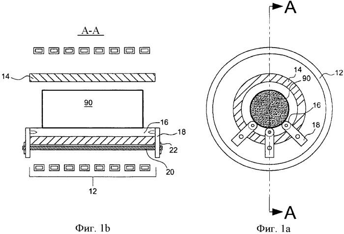 Система держателя заготовки для индукционного нагрева