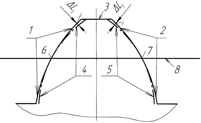 Червячно-модульная фреза на основе эвольвентного червяка для нарезания цилиндрических зубчатых колес