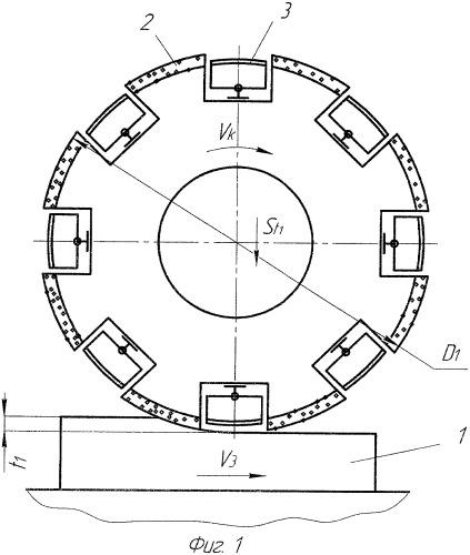 Способ шлифования комбинированным абразивным инструментом