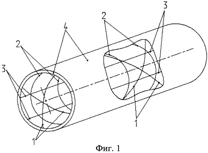 Сетчатая оболочка вращения из композиционных материалов