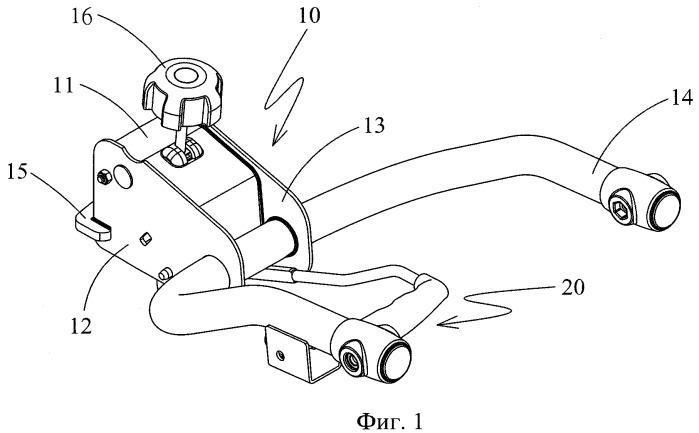 Соединительное устройство, предназначенное для соединения устройства для перевозки велосипедов с шаром прицепного устройства