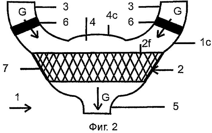 Компенсатор потока выхлопных газов, способ его изготовления и применение, и выхлопной коллектор двигателя, содержащий такой компенсатор