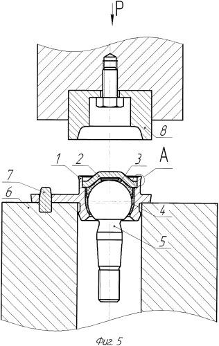 Способ изготовления шарового шарнира