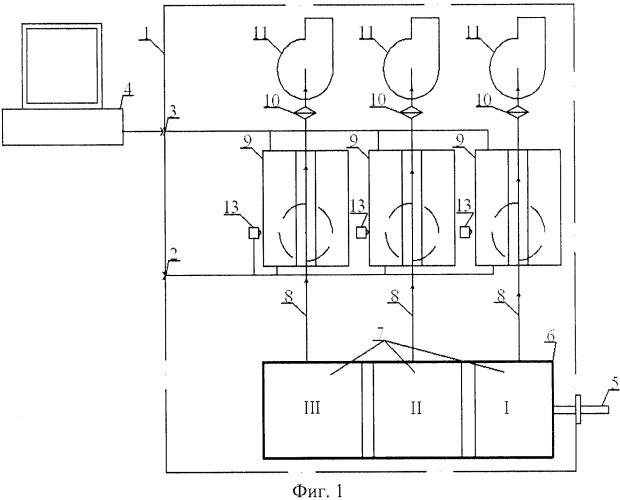 Прибор для определения дисперсного состава аэрозоля