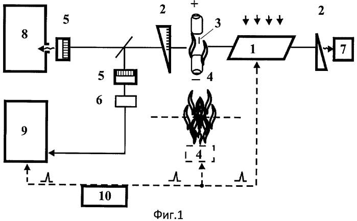 Зонд для получения локально усиленных спектров гигантского комбинационного рассеяния