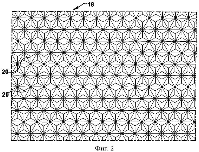 Способ изготовления матрицы искаженных оптических элементов