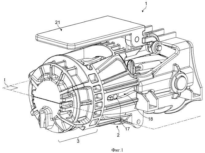 Варочное устройство для капсулы с закрывающим механизмом с изменяющимся передаточным отношением