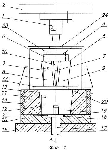 Штамп и способ изготовления корпуса буксы из цилиндрической заготовки с глобулярной структурой