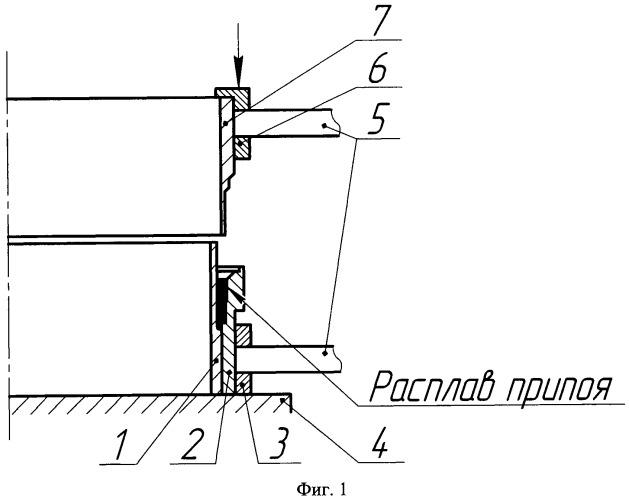 Способ низкотемпературной пайки тонкостенных цилиндрических деталей из титана и стали